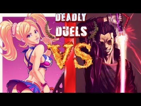 Xxx Mp4 Juliet Starling VS Travis Touchdown Lollipop Chainsaw VS No More Heroes Deadly Duels 3gp Sex