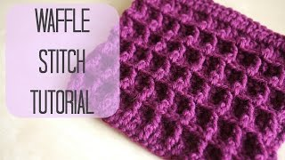 Download CROCHET: How to crochet the Waffle stitch | Bella Coco 3Gp Mp4