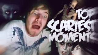 [FUNNY] TOP SCARIEST MOMENTS OF GAMING! 100