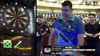 The 14th ADA International Darts Tour - MEN'S TOP GUN - Featured Match