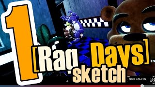 [Rag_Days Sketch] #1 Хардбас! (five nights at freddy's GMod rag days)