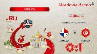 Panama - Tunisia,  FIFA 18 World Cup 2018 Russia Prediction Games (Group G)