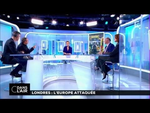 Londres l Europe attaquée cdanslair 23 03 2017