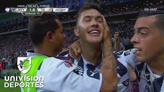 Si no pudo Dorlan, un 'Cachorro' fue el que pudo: Monterrey 1-0 Tigres