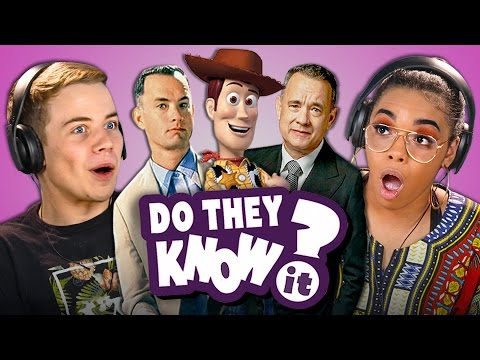 DO TEENS KNOW TOM HANKS MOVIES REACT Do They Know It