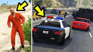 GTA 5 - What Happens if You Follow the Escaped Prisoner?