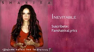 05 Shakira - Inevitable [Lyrics]