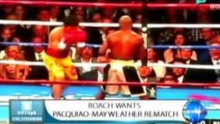 NewsLife: Roach wants Pacquiao-Mayweather rematch || May 4, 2015