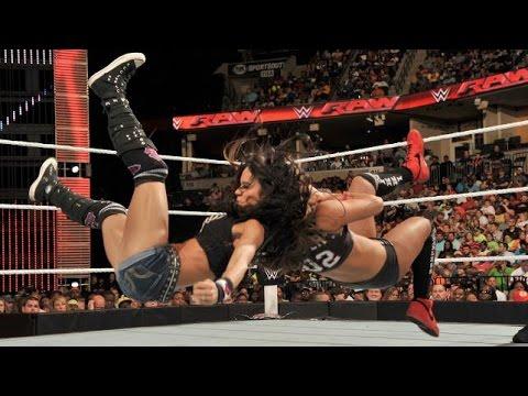 Xxx Mp4 WWE RAW 09 22 14 AJ Lee Vs Nikki Bella 720p 3gp Sex