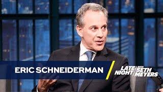 NY Attorney General Eric Schneiderman Talks Suing Donald Trump