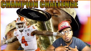 CAN I RE CREATE DESHAUN WATSON NATIONAL CHAMPIONSHIP PERFORMANCE??? CHAMPIONSHIP CHALLENGE - NCAA 14