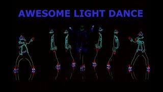 Light dance video on  America