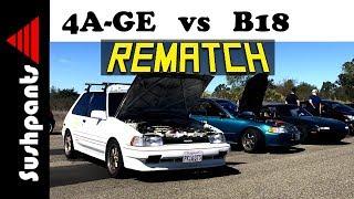 REMATCH: 4AGE Corolla VS B18 EG Civic