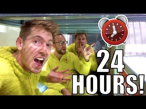 24 HOUR FORT OVERNIGHT CHALLENGE IN WALMART