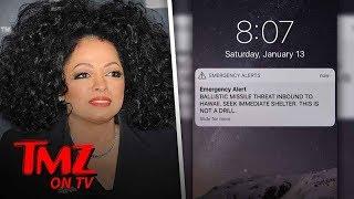 Diana Ross Was Scared By The Nuclear False Alarm! | TMZ TV