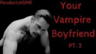 ASMR || A Lovely Rainy Night with Your Vampire Boyfriend (Gender Neutral)