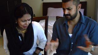 How Indian couple & American couple fights