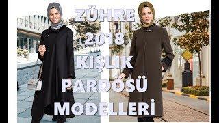 Zühre Kışlık Pardesü Modelleri 2017-2018 Kış Sezonu Tesettür Giyim Modelleri
