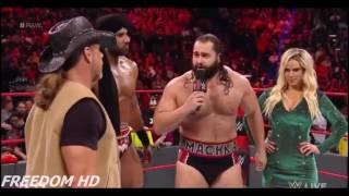 WWE Raw 9 January 2017 Highlights 720p HD