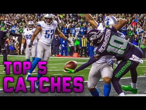 Top 5 Catches NFL 2016 17 Playoffs
