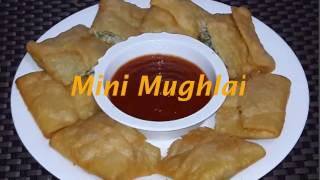 Mini Mughlai Paratha Easy Bangla Recipe by How To Cook Fast
