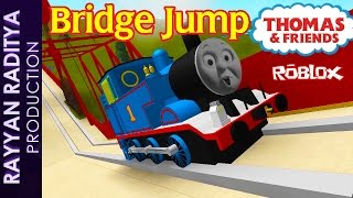 Thomas and Friends - The Great Race | Thomas Bridge Jump Roblox Remake