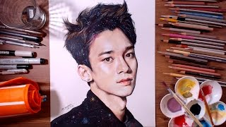 EXO Chen (Kim Jong-dae) - speed drawing | drawholic