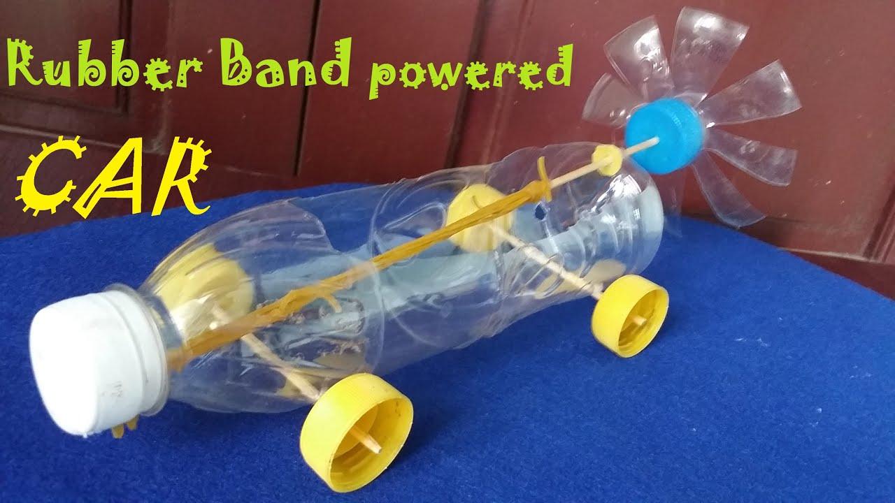 How To Make A Rubber Band Powered Car Air Car 3gp Mp4 Hd
