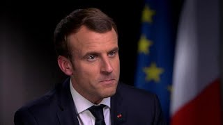 """Macron says he told Trump Jerusalem decision would be """"a mistake"""""""