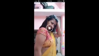 Beautiful girl sexy dance with a bollywood item song