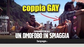 Caccia e insulta gay in spiaggia: le reazioni all'attacco omofobo [ESPERIMENTO SOCIALE]