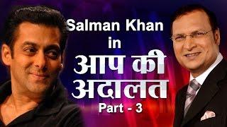 Salman Khan In Aap Ki Adalat (Part 3) - India TV