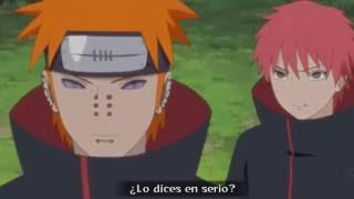 Orochimaru vs Pain & Sasori Sub Español Naruto Shippuden Episodio 431