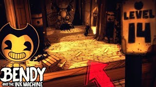 DRAINING LEVEL 14 & HACKING THE LIFT!! | Bendy and the Ink Machine [Chapter 3] Ink Hack