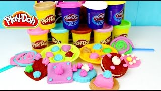 Play Doh Colorful Candy Box | Plastilina Play Doh en Español|Mundo de Juguetes