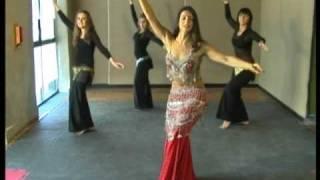 Pasos básicos de la danza Árabe, Camello, Leila Loberse