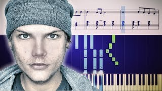 Avicii - For A Better Day - Piano Tutorial + Sheets