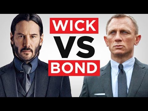 Xxx Mp4 John Wick Vs James Bond Which One Is MORE Dangerously Stylish RMRS 3gp Sex