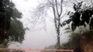 Cukulat- istanbul da ceviz gibi dolu yagmur- istanbul rainstorm damaged