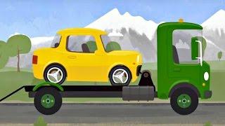Car Doctor. Yellow car and McWheelie. Car