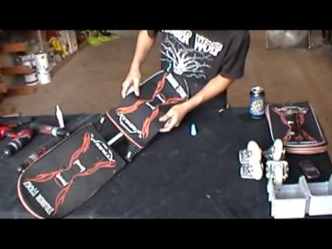 Changing a Deck on the TimberWolf XtreeM caster board