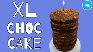XL CHOCOLATE FUDGE CAKE