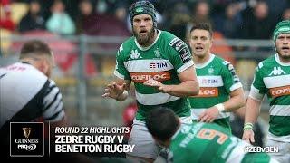 Round 22 Highlights: Zebre Rugby v Benetton Treviso | 2016/17 season