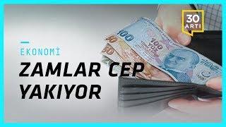 İşsizlik %17, enflasyon %11,92…Elektrikte gizli zam…Tabldot zammına isyan…Halkbank: