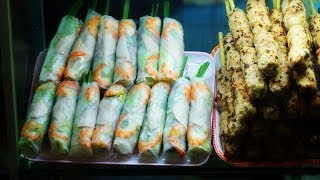 Vietnamese Food in Cho Ben Thanh Market - Ho Chi Minh City, Vietnam