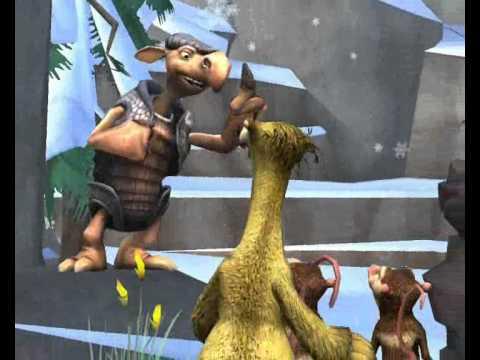 Zagrajmy w Epoka Lodowcowa 3 Era dinozaurów Misja 1