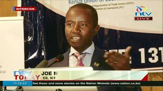 ICT CS officially opens conference of journalists' safety in East Africa