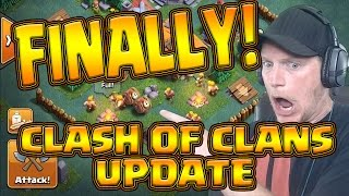 CLASH OF CLANS IS BACK! - NEW UPDATE - Night Village