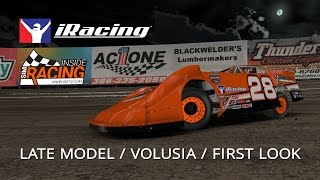 iRacing Dirt First Look Part III - Limited & Super Late Models at Volusia Speedway