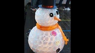 Мк снеговик своими руками